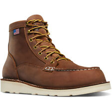"""Danner Men's Bull Run Moc Toe 6"""" Work Boot 15573 - Tobacco"""