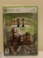 Lord of the Rings:The Battle for Middle-earth II 2 (Xbox 360) New Sealed