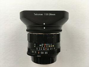 Asahi Pentax SMC Takumar 1:3,5/28mm Objektiv