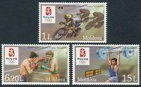 Moldavia 2008 **  Correo Yvert nº  530/532 Juegos Olímpicos de verano en Pekin