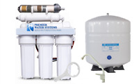 PREMIER REVERSE OSMOSIS RO WATER FILTER SYSTEM 100 GPD Alkaline Ionizer/ORP NEG