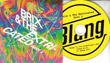 BRIX & THE EXTRICATED Part 2 2017 UK 11-trk promo test CD The Fall