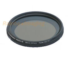 58mm Slim Fader ND Filter Neutral Density ND8-ND800 MRC Multi-Coated