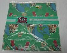 Captain Planet and the Planeteers Gift Wrap Cleo Wrapping Paper 1990s Tbs