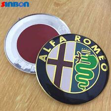 2 Friso Logo Cresta Emblema Delantero Alfa Romeo GTV 147 156 159 146 mito garces