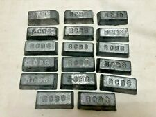 17 LBS RSBC LEAD INGOTS FOR CASTING SINKERS WEIGHTS BULLETS-FLAT RATE SHIPPING