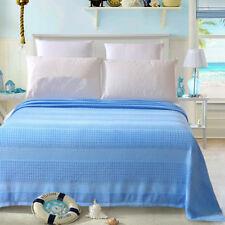 100% cotton blanket thin towel blanket super soft throws queen king size blanket