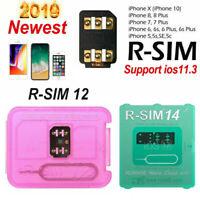 RSIM14/12+2019 R-SIM Nano Unlock Card Fit iPhone X/8/7/6/6s/5s/ 4G iOS 12 lot