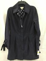 MAISON JULES Jacket Tie Sleeve Trench Navy M