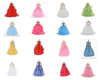 1Pcs Fashion Party Dresses Clothes Shoes Gown For  Dolls Girls GT