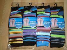 Men`s Design Socks Size 6-11 dozen pack