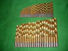 Spiralbohrersatz HSS-G-TITAN Set 70 tlg Metall Edelstahl Bohrer Satz 1-10x0,5mm