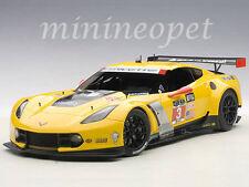 AUTOart 81505 CHEVROLET CORVETTE C7R LM Le Mans 24 HRS GTLM 2015 WINNER #3 1/18