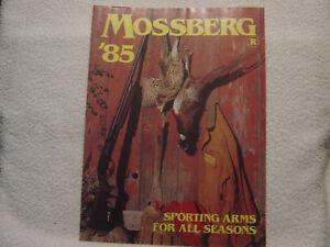 MOSSBERG 1985 catalog