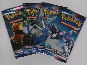 Pokémon - Diamante & Pérola / Diamond & Pearl Booster Pack - portuguese