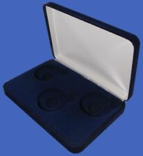 Guardhouse Velvet Display Box for 3 Large Coin Capsules