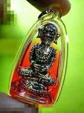 6583-NGUNG AMULET THAI OCCULT MAGIC SORCERY DEMON DEITY CHARMING OIL AC NENAIR