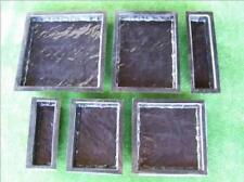 6 Yorkstone Paver Moulds 1mm - Concrete Paver Maker Set