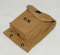 WWII US ARMY USMC MAGAZINE HAND GRENADE AMMUNITION POUCH POCKET