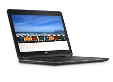 Dell Laptop Computer Latitude E7240 Core i5 8GB 128GB SSD HDD Webcam Windows 10