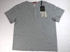 Cremieux Premium Denim Short Sleeve Shirt Gray Size XL