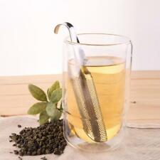 Tea Infuser Stainless Steel Pipe Design Metal Strainer Leaf Loose Mesh Diffuser