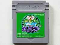 Nintendo Gameboy Pokemon Green Version Pocket monsters GB Japan F/S