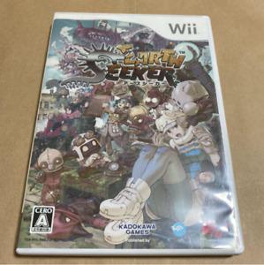 Earth Seeker Nintendo Wii Japan version Complete from Japan