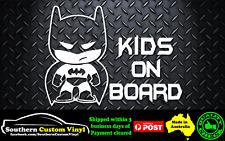 Batman kids on board Car Window Sticker Decal