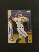 Bo Bichette 2020 Topps Series 1 RC Rookie Card #78 Toronto Blue Jays 🔥