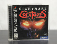 Nightmare Creatures  PlayStation 1  Ps2