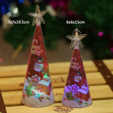 Mini Christmas Tree LED Night Light Color Changing Home Table Party Decoration