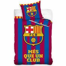 Fc Barcelona MÉS Que Un Club Single Duvet Cover Set 100% Cotton Bedding