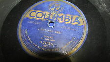 AL JOLSON COLUMBIA 78 RPM RECORD 2835 I GAVE HER THAT