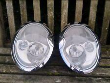 2004 Mini Cooper S JCW Chrome Headlights with washers