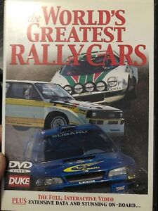 The World's Greatest Rally Cars region 2 DVD