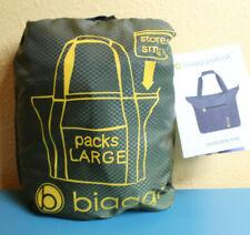 Biaggi Paksak Packable Travel Tote - Packs Into Small Bag! Olive Green NWT