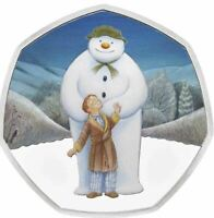 2019 THE SNOWMAN Silver Proof Coin