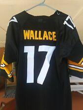 Pittsburgh Steelers Mike Wallace Jersey #17 Reebok On Field Sewn Sz 50