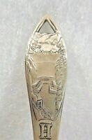 Sterling Silver Souvenir Spoon Hoover Dam, Nevada