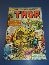 Mighty Thor #242 Bronze age 1st Servitor Key VF-/VF Beauty Wow