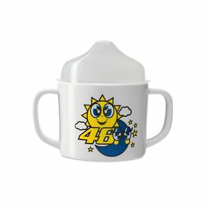 Valentino Rossi VR46 Baby Cup Sun & Moon - White/Yellow