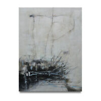 NY Art - Minimalist Modern Abstract 30x40 Original Oil Painting on Canvas - Sale
