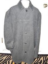 "Men's""J.CREEW""Charcoal 80%Wool/20%Nylon Lined Button Down Coat Jacket  size L"