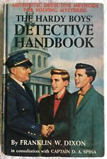 THE HARDY BOYS DETECTIVE HANDBOOK BY FRANKLIN W. DIXON MATTE PICTURE COVER 1965A