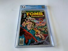 TOMB OF DARKNESS 21 CGC 9.2 ATOMIC NUCLEAR EXPLOSION COVER MARVEL COMICS 1976