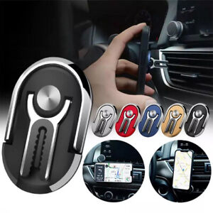 3 in 1 Mobile Phone Holder 360 Car Air Vent Grip Mount Stand Finger Ring Bracket