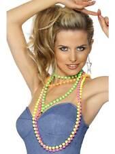 Beads Fluorescent, One Size , 1980's Fancy Dress #AU
