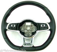 VW GOLF 7 5g POLO 6r GTI SPORT VOLANTE Pelle Multifunzione Volante 5gm419091m
