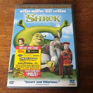 Shrek DVD (Region 1 USA CANADA)